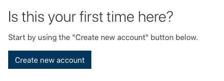 Image - Create new account button