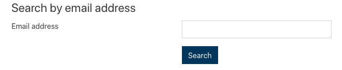 Image - Email address search