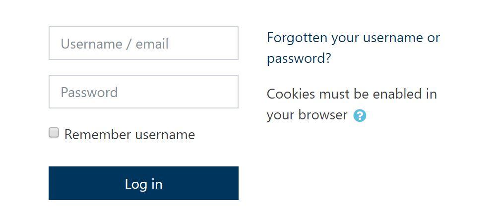 Image - Forgot Password Link
